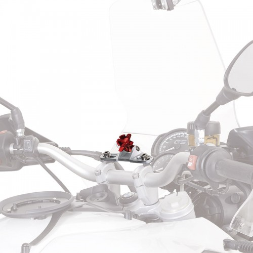 S901A Universal support in billed and anodized aluminium GIVI