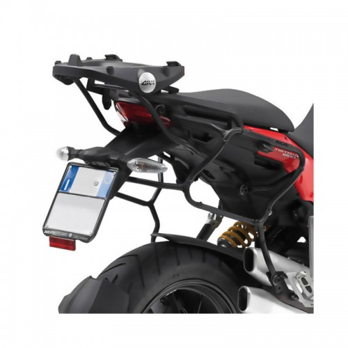 PLXR312 Side case holder for V35 MONOKEY® cases Multistrada 1200  GIVI
