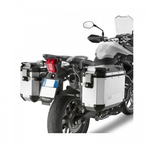 Βάσεις πλαϊνών βαλιτσών OBK PL6401CAM_Tiger 800/800xc'11-13 Triumph Givi