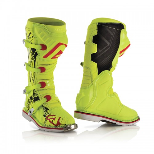 Μπότες Acerbis 21596.443 X-PRO V fluo κίτρινο Vibram® σόλα