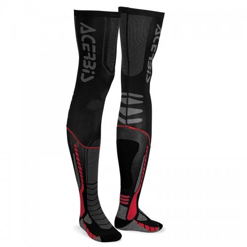 Κάλτσες Acerbis X-Leg Pro 21693.323 μαύρο-κόκκινο