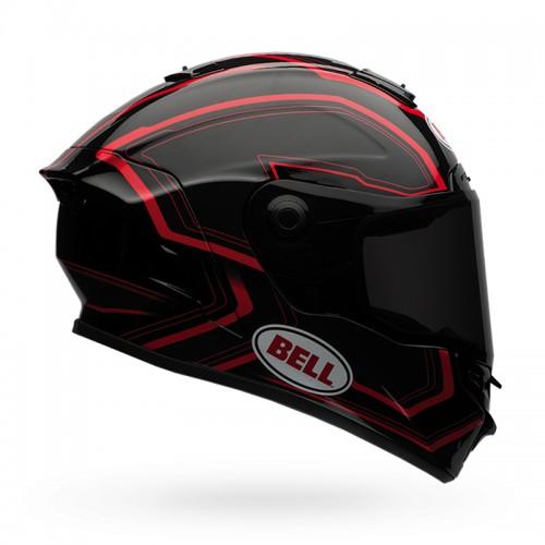 Kράνος Bell Star Pace μαύρο/κόκκινο