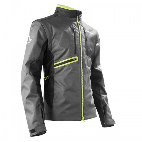22169.318 ENDURO JACKET BLACK/FLUO YELL  ACERBIS