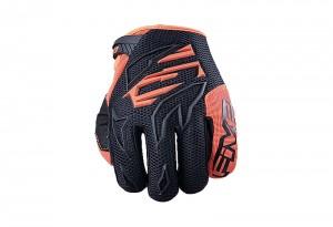 Γάντια Five MXF3  μαύρο-fluo πορτοκαλί