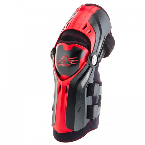 Knee guards  Gorilla 22114.323 black-red   ACERBIS