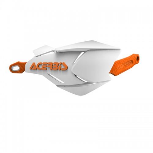 Προστασία χεριών Acerbis X-Factory _22397.229 άσπρο-πορτοκαλί