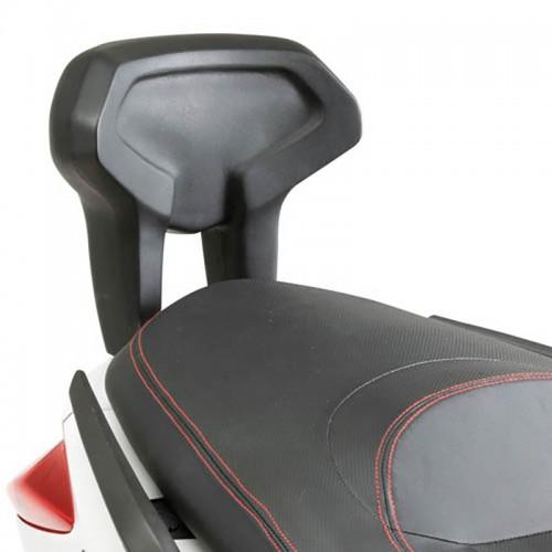 TB55 Backrest for YAMAHA X-MAX'10-13  GIVI