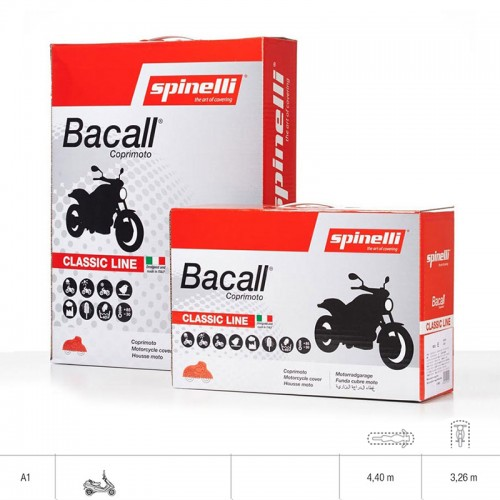 Κάλυμμα moto Spineli LINEA BASIC A1 (παπί)