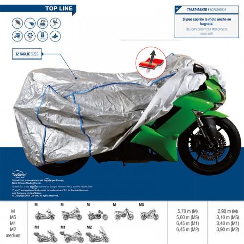 Κάλυμμα moto Spineli TYVEK M1 (+ζελατίνα)