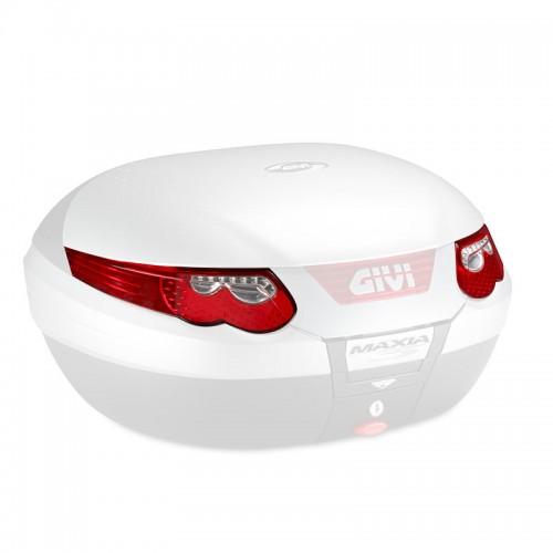 Z696R  Top case reflectors, red, for E55 Givi