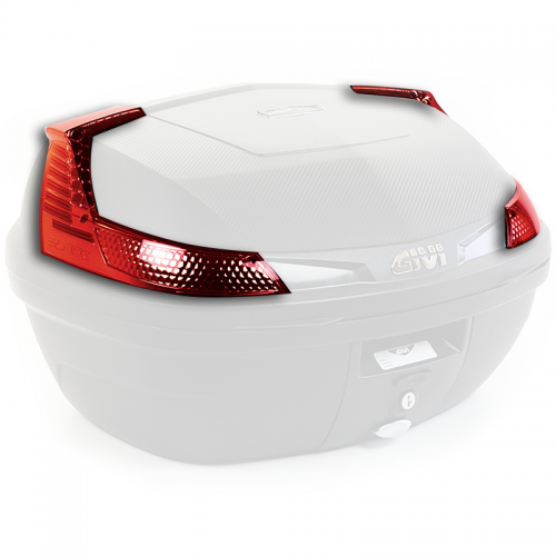Z4506R Red lefrectors (left & right) for B37N & B47N Givi