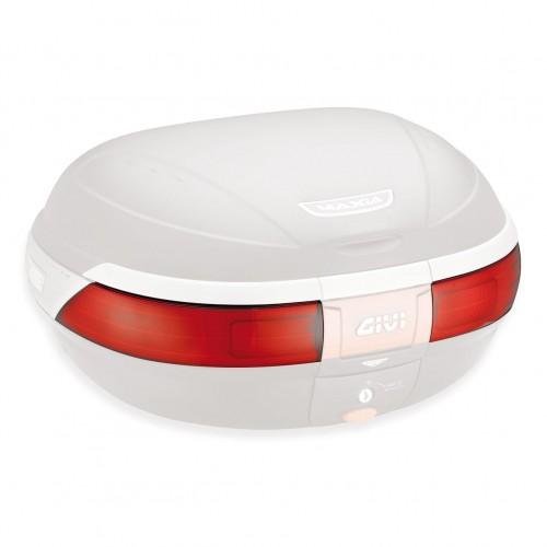 Z223 Red reflectors for E52 top case Givi