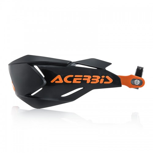 22397.313 Acerbis X-Factory handguards black-orange