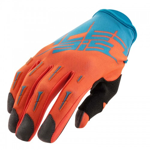 21631.243 ΜΧ X2 gloves blue-fluo orange Acerbis