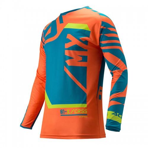 Μπλούζα Acerbis Mx Fitcross 22293.243 μπλέ-πορτοκαλί