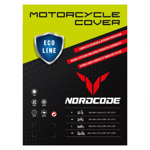 Nordcap moto cover (XL) Eco line