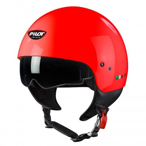 Κράνος Pilot Sun visor κόκκινο