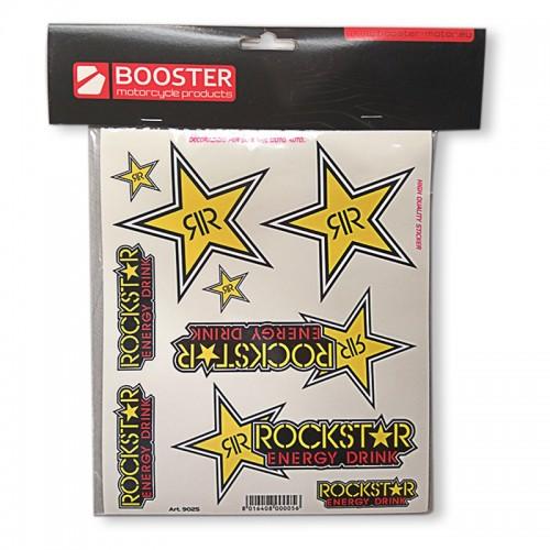 Σετ αυτοκόλλητα Booster Rockstar _ 180 2918 273