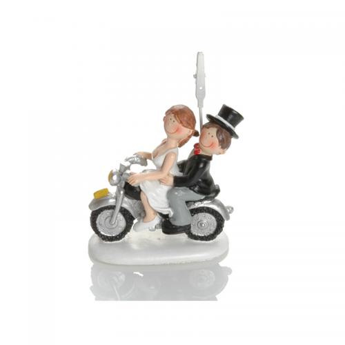 WEDDING MOTORBIKE 8cm BOOSTER 183 1020 210