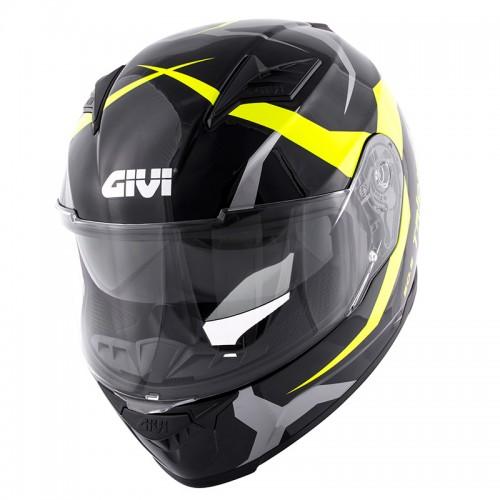 Κράνος Givi H50.5 Tridion Vortix μαύρο/κίτρινο