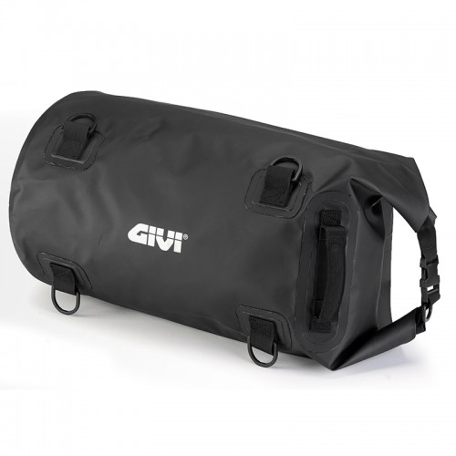 EA114BK Waterproof cylinder seat bag - 30 ltr, black colour, GIVI