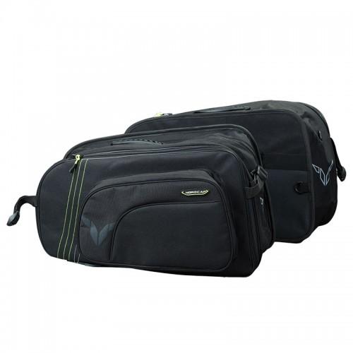 Nordcap saddle Bags Cargo II -fluo