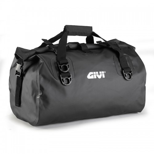 EA115BK Waterproof cylinder seat bag 40 ltr, black colour, GIVI
