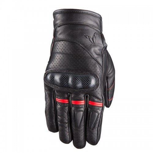 Nordcap GT-Carbon Black-Red gloves