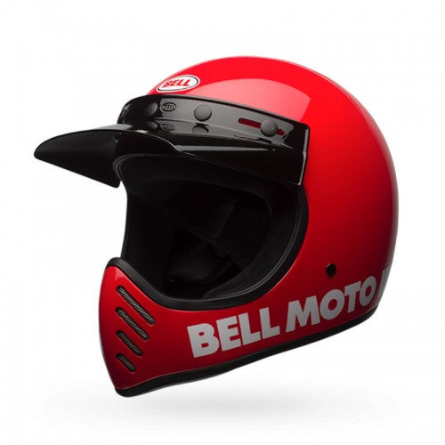 BELL MOTO-3 red