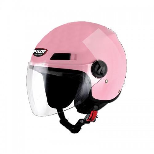 Κράνος Pilot Fazer ροζ