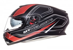 MT Thunder 3 SV Trace black matt - red
