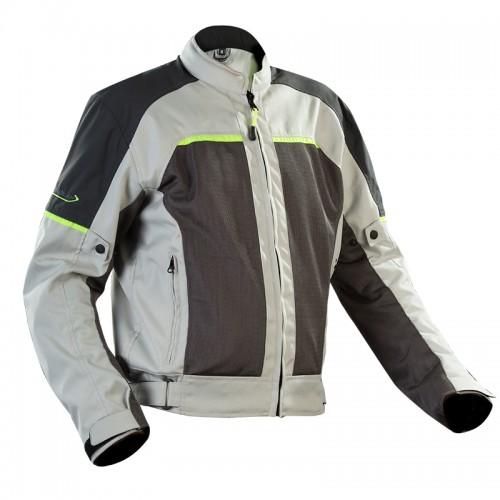 Eolos grey-fluo oversize jacket - NORDCAP