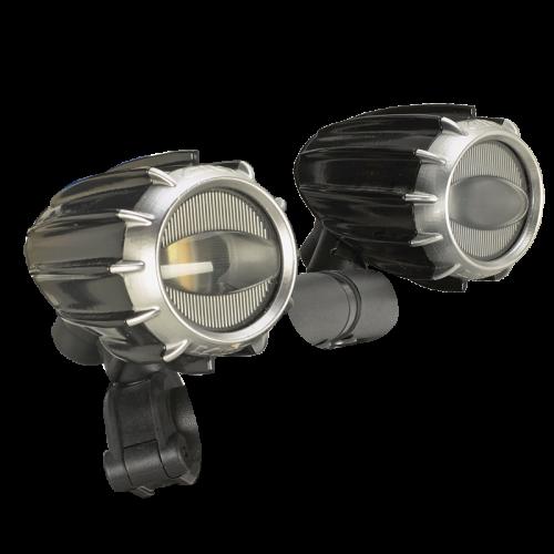 Προβολάκια S321_led μαύρα σετ Givi