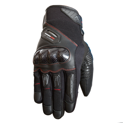 Nordcap Summer Star gloves black