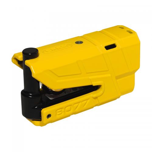 Κλειδαριά δισκοφρένου & συναγερμός Abus 8077GD κίτρινο