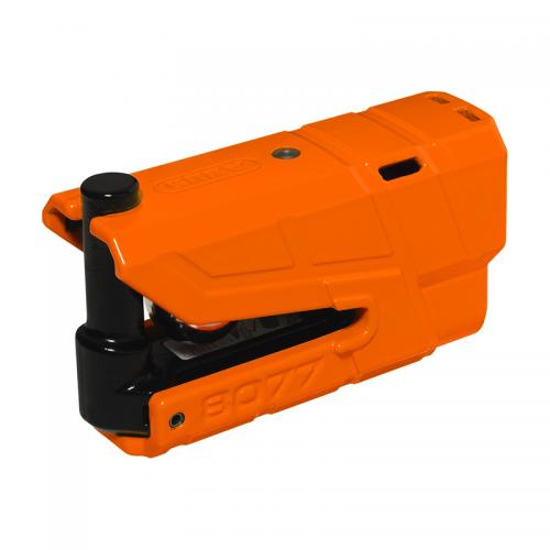 Κλειδαριά δισκοφρένου & συναγερμός Αbus 8077GD πορτοκαλί