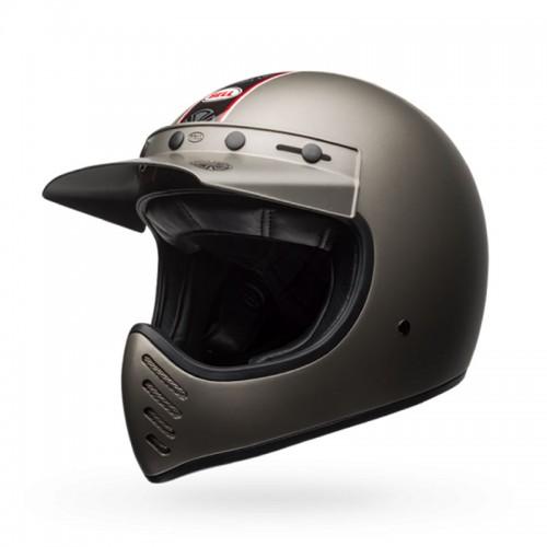 Bell Moto 3 Independent matt titanium