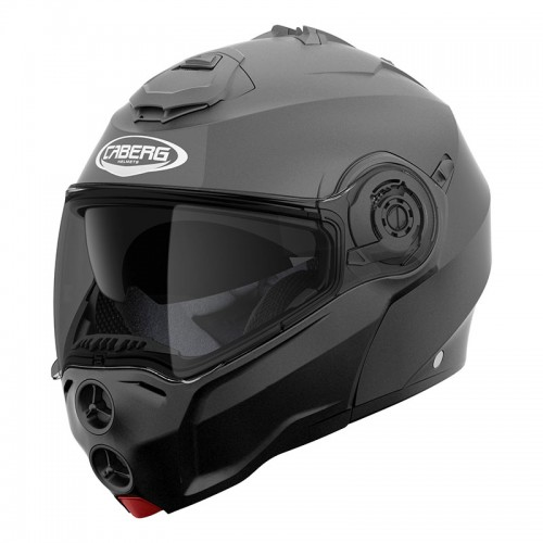 CABERG DROID FLIP-UP HELMET Matt Gun Metal