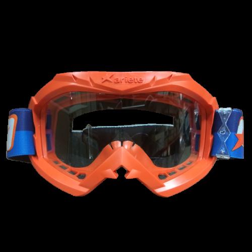 Μάσκα Ariete Aria 12960-C250 πορτοκαλί με μπλε-πορτοκαλί enduro