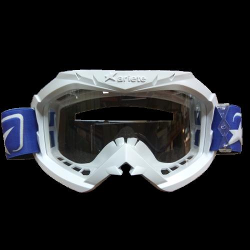 Μάσκα Ariete Aria 12960-C247 άσπρη με μπλε enduro