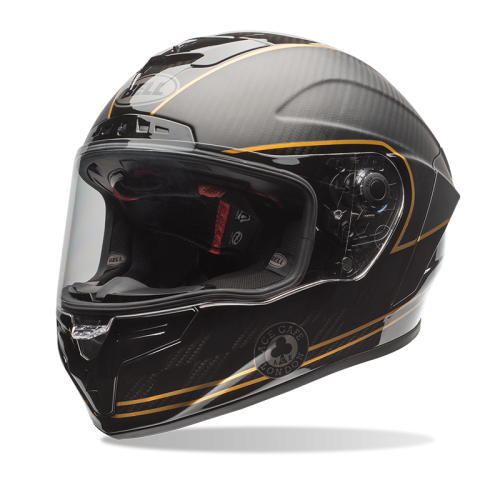 Bell Racestar Speed Check black/gold