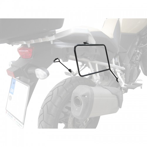 Specific holder for pair of side bags for DL1000 V-STROM 14+ SUZUKI