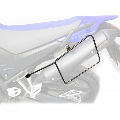 Specific holder for pair of side bags for XT660 '04-10 YAMAHA