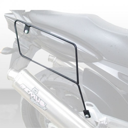 Specific holder for pair of side bags for TDM900 YAMAHA