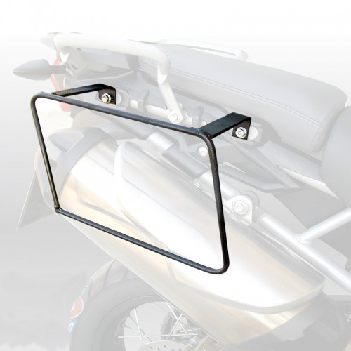 Specific holder for pair of side bags for TIGER 800/800XC TRIUMPH