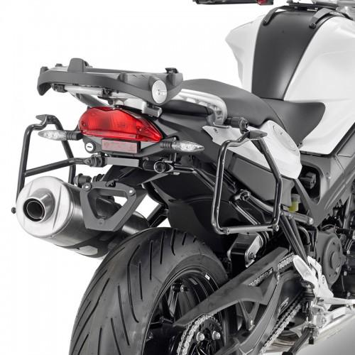PLR5118 rapid release side case holder for F800R / F 800 GT (13 > 16) BMW Givi
