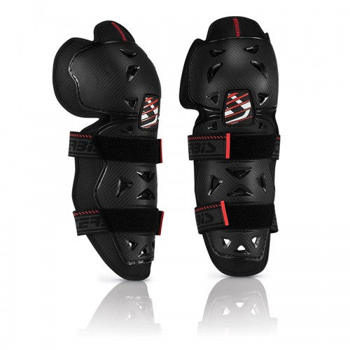 Acerbis PROFILE 2.0 - KNEE GUARDS 17757 black-red