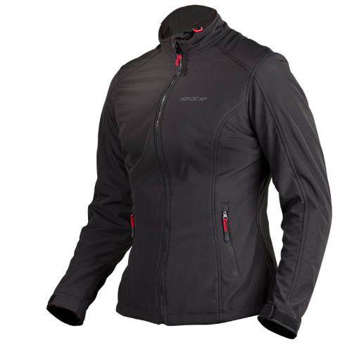 Nordcap Softshell Lady jacket - black