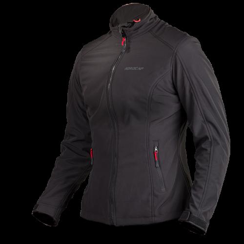 Nordcap Softshell Lady jacket - black