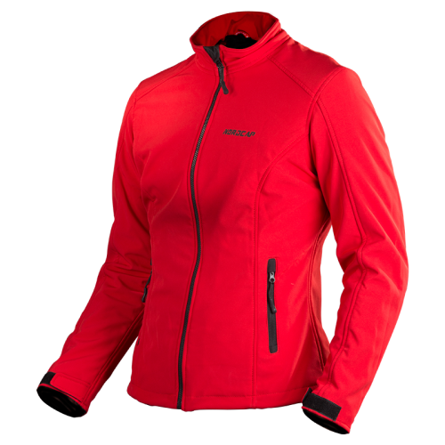 Nordcap Softshell Lady jacket - red